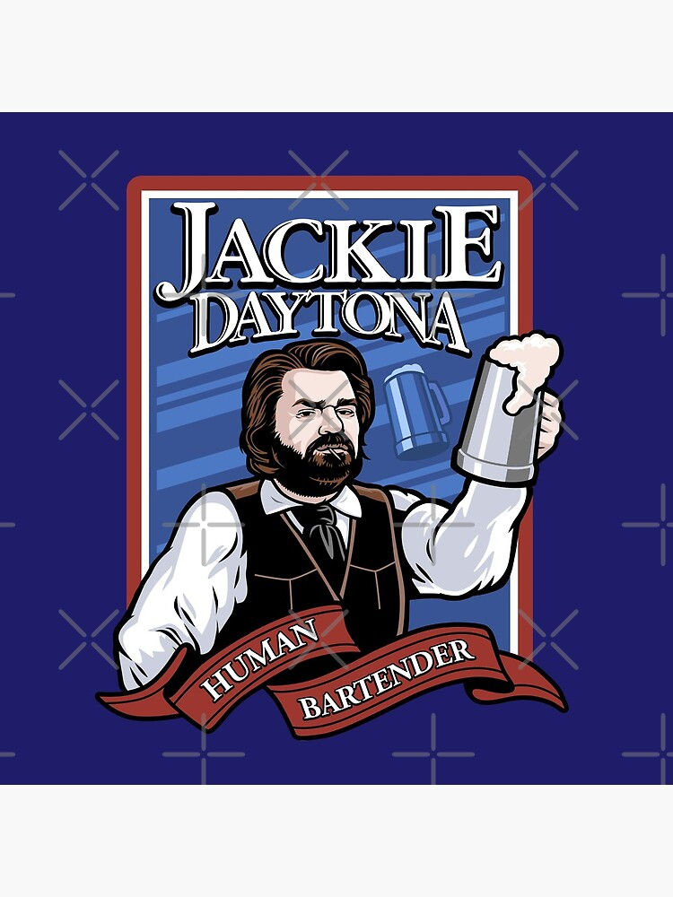 Jackie Daytona- Regular Human Bartender by harebrained