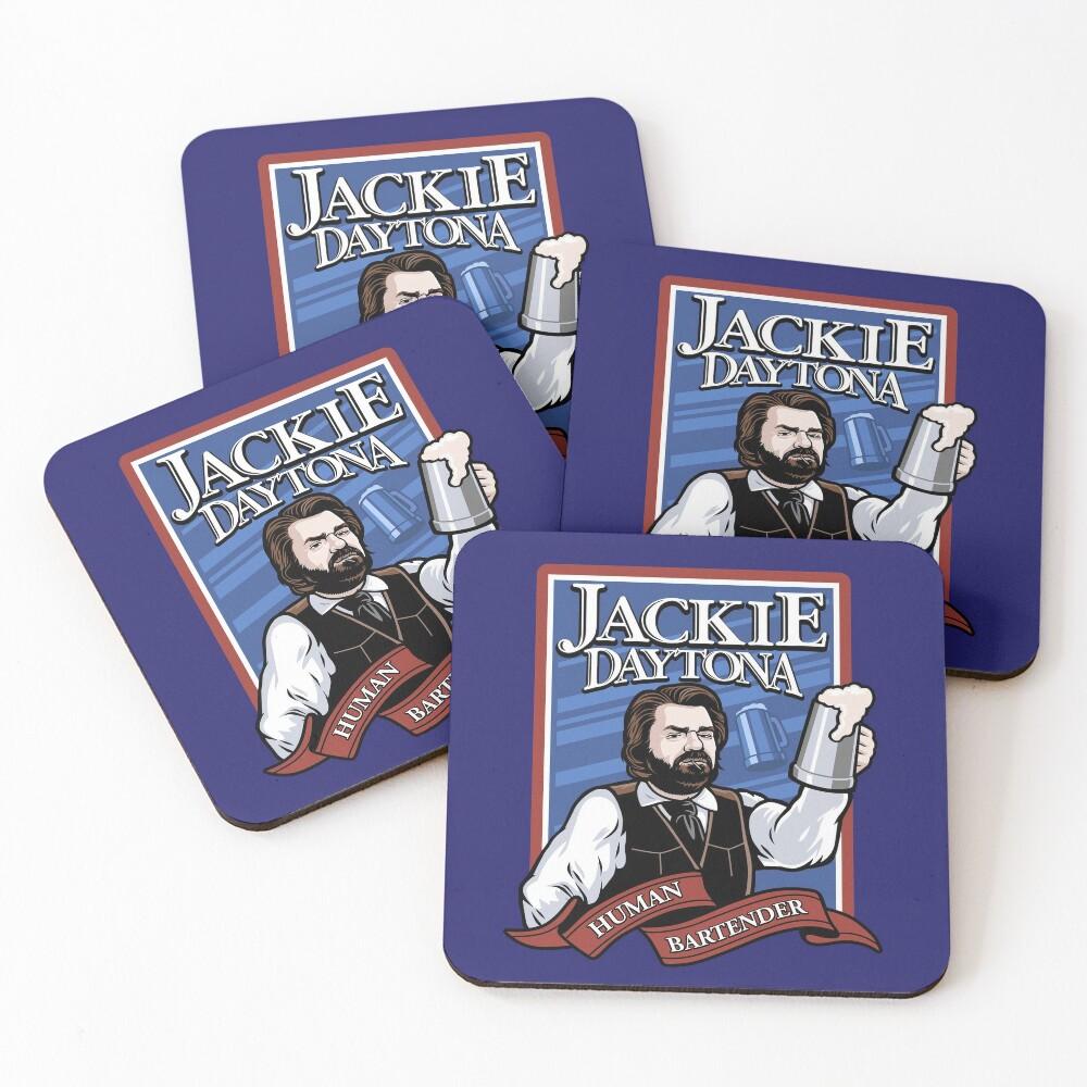 Jackie Daytona- Regular Human Bartender Coasters (Set of 4)