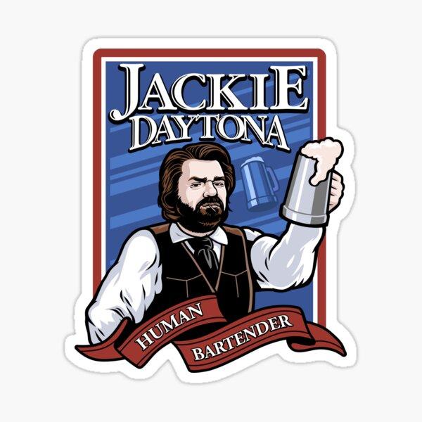 Jackie Daytona- Regular Human Bartender Sticker