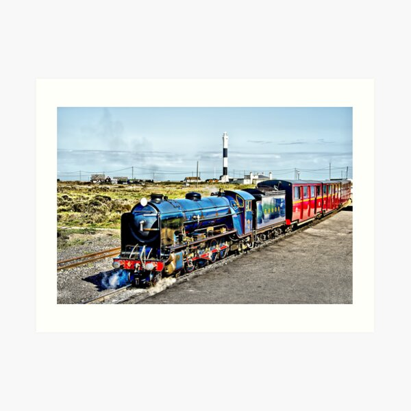 Romney Hythe and Dymchurch Railway Art Print