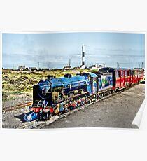 Romney Hythe and Dymchurch Railway Poster