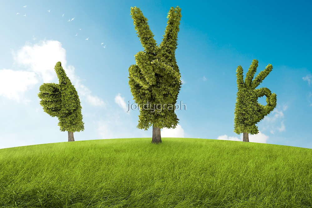 Positive tree by jordygraph