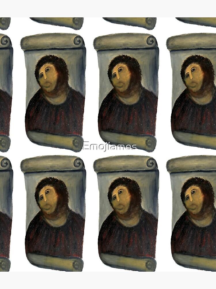ecce homo restoration by Emojiames