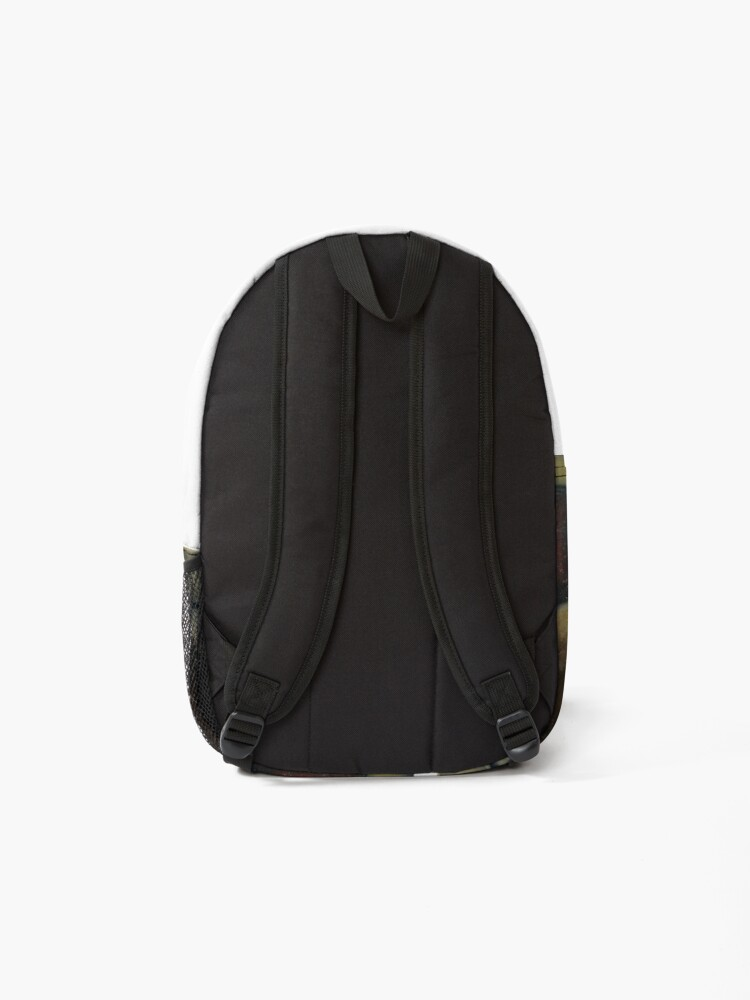 Alternate view of ecce homo restoration Backpack