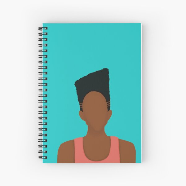 High Top Fade Spiral Notebook