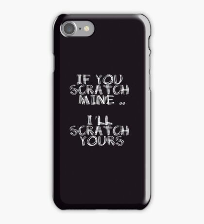 FATHERS DAY GIFT - THE  BACK SCRATCHER KIT! iPhone Case/Skin