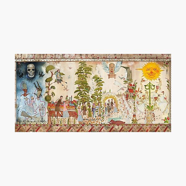 MIDSOMMAR MURAL Photographic Print