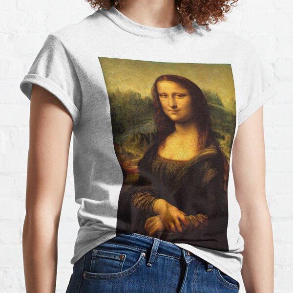 Mona Lisa HD Classic T-Shirt