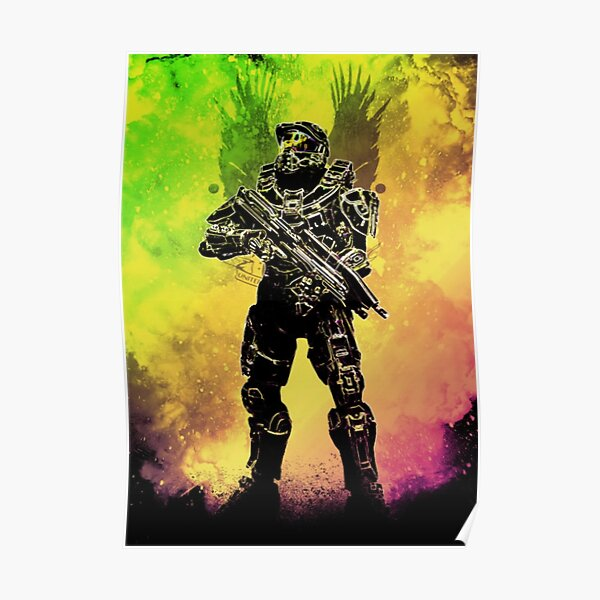 Halo - Master Chief Poster