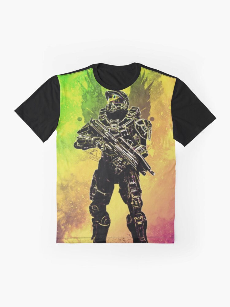 Alternate view of Halo - Master Chief Graphic T-Shirt