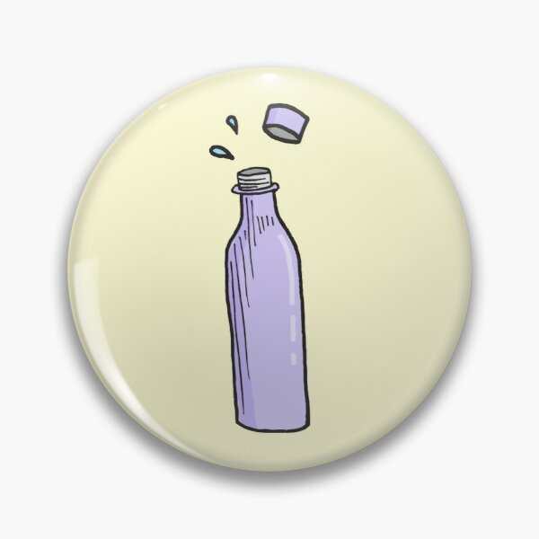 Pole Dancing Essential - Hydration Water Bottle Pin