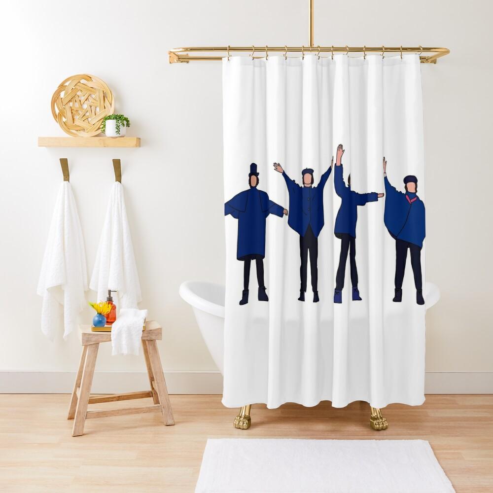 help! Shower Curtain