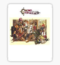 Chrono Trigger Family Sticker