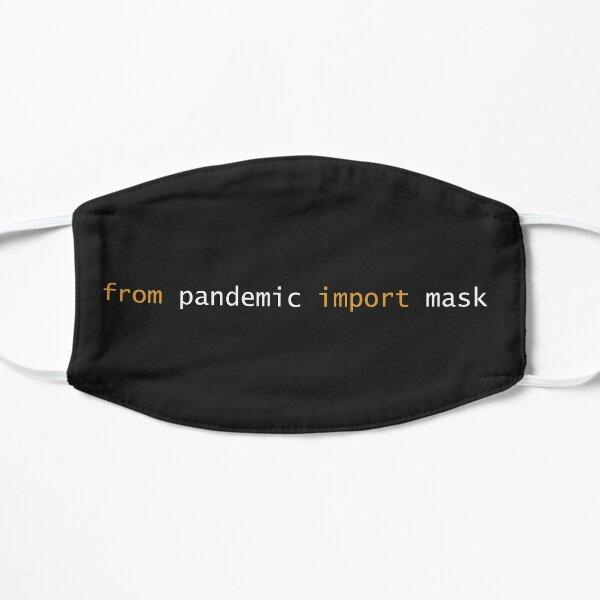 Python Pandemic Imports Flat Mask
