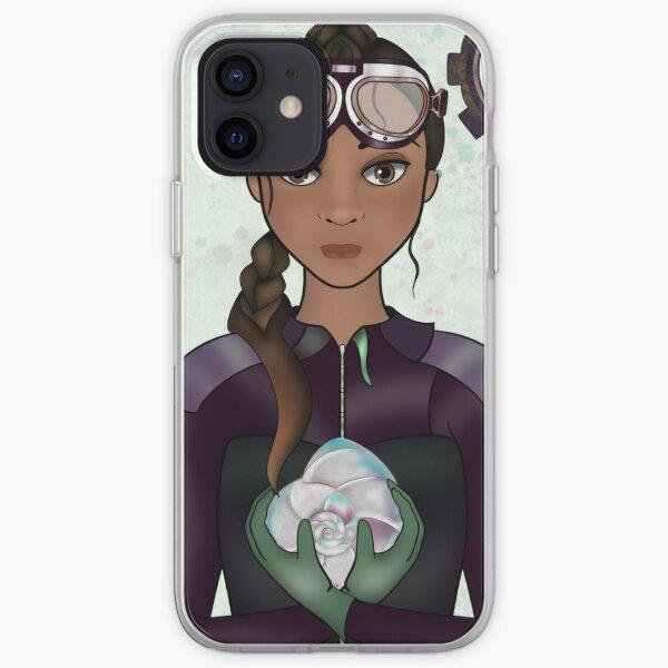 Marine Biologist (STEAMpunk Art) iPhone Soft Case