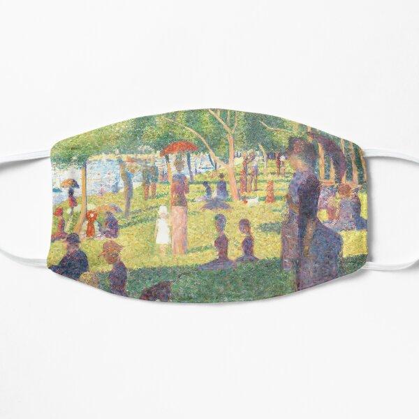 """Study for """"A Sunday on La Grande Jatte"""" 1884 Georges Seurat Mask"""