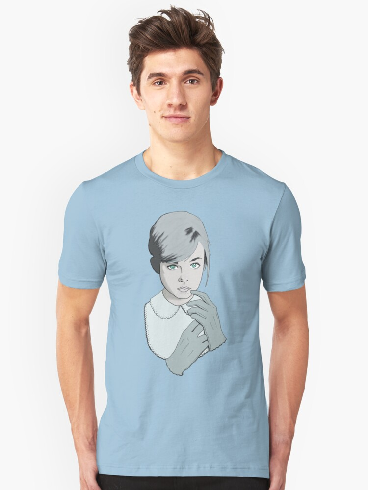 ghost girl Unisex T-Shirt Front