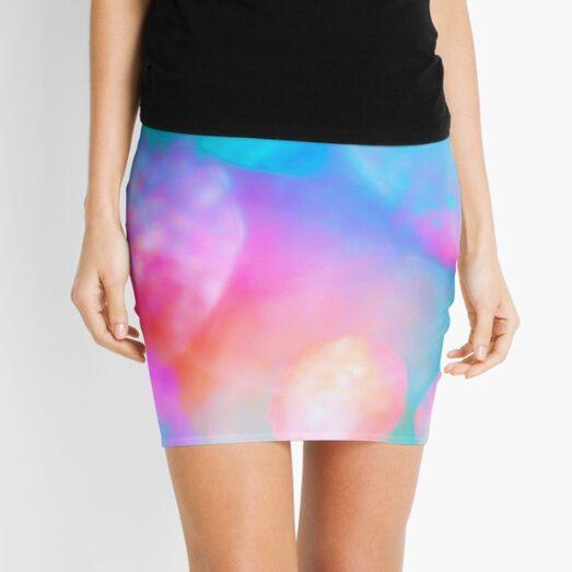 SSDGM Pastel Graffiti Tie Dye, My Favorite Murder Mini Skirt