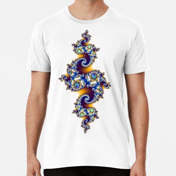 Juliaset Fractal- Transparent  Premium T-Shirt