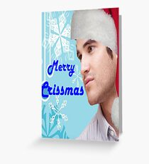 Darren Crissmas card Greeting Card