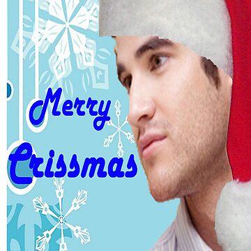 Darren Crissmas card by rachick123