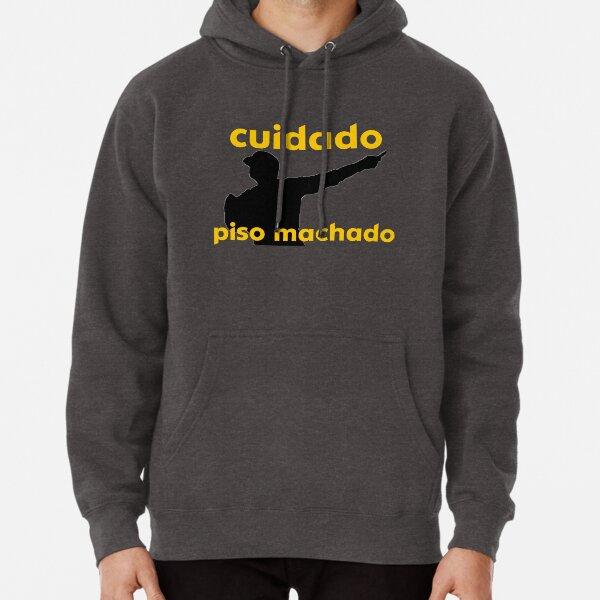 Cuidado Piso Machado Pullover Hoodie