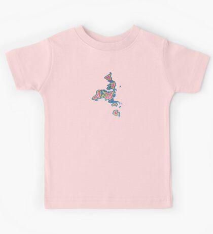 Map Art Kids Clothes
