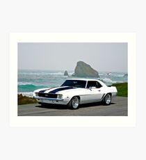 1969 Camaro Super Sport Art Print