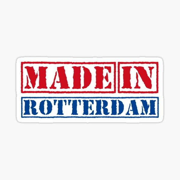 Made in Rotterdam Netherlands Sticker