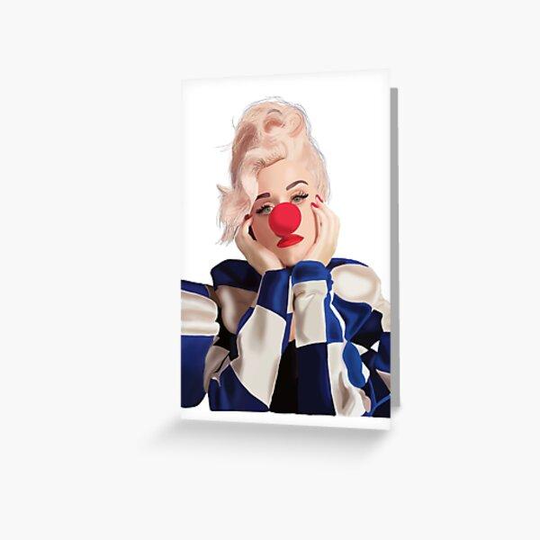 I Love Katy Perry Birthday Card Greeting Card