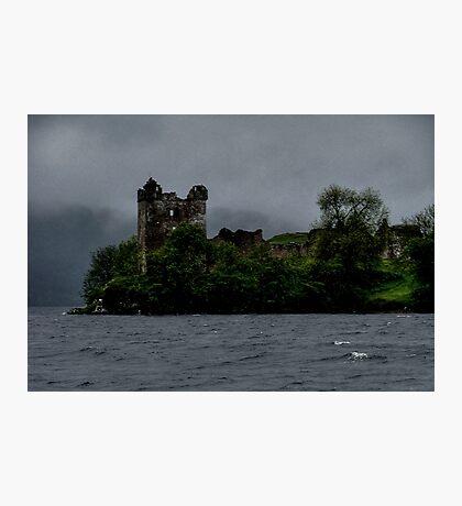 Urquhart ......Haunted Castle.....Loch Ness.....Scotland ! Photographic Print