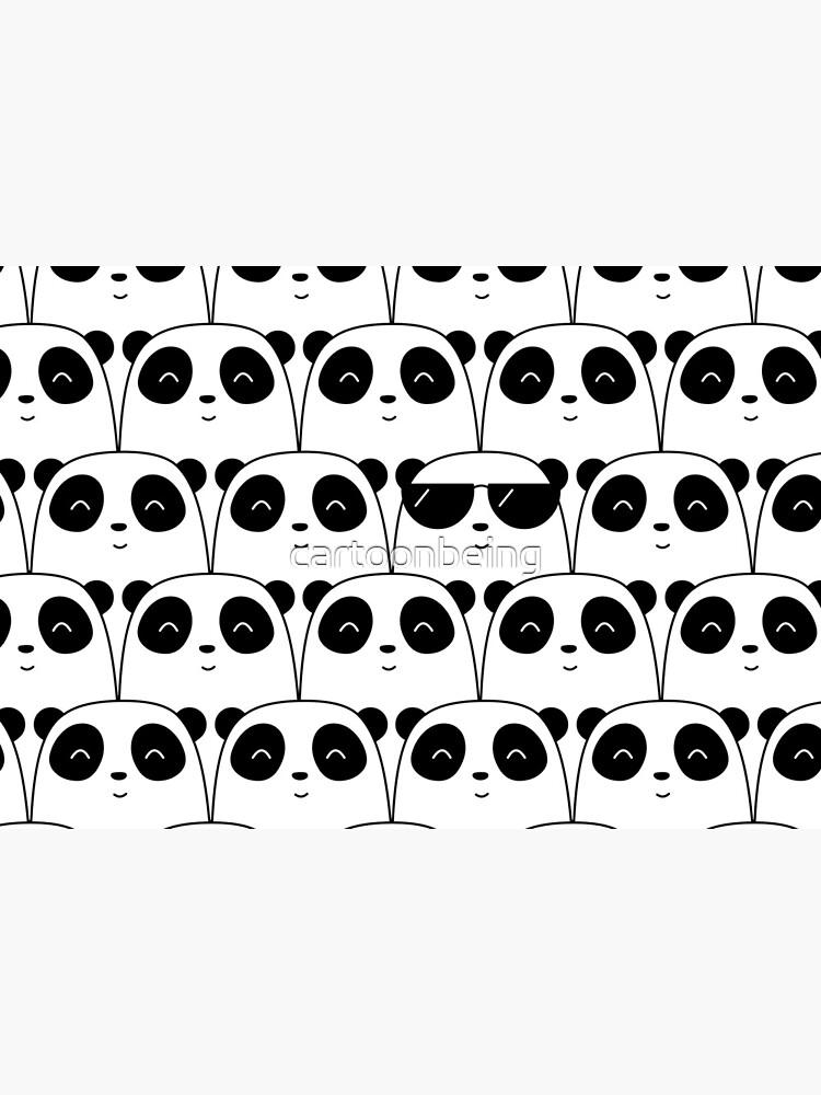 That Cool Panda by cartoonbeing