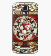 Ice Cream Mandala Case/Skin for Samsung Galaxy