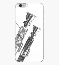 Star Wars Lightsaber Schematics iPhone Case