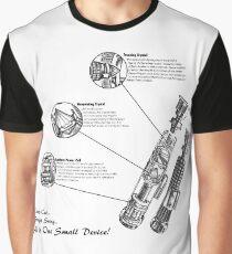 Star Wars Lightsaber Schematics Graphic T-Shirt