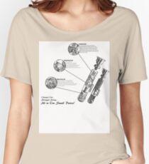 Star Wars Lightsaber Schematics Women's Relaxed Fit T-Shirt
