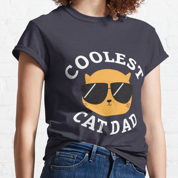 Coolest Cat Dad Classic T-Shirt