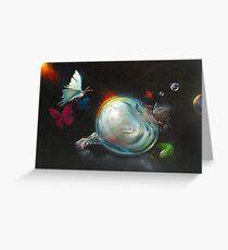 Glass Onion Greeting Card