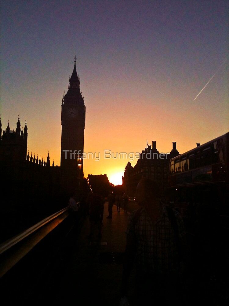 London by Sunset by Tiffany Bumgardner