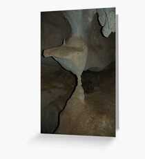 Capricorn Caves formation Greeting Card