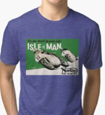 Isle of Man TT Tri-blend T-Shirt