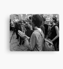 Gonski Protests Canvas Print
