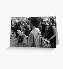 Gonski Protests Greeting Card