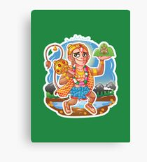 Hanuman - Hindu God - Bunch of Bhagwans Canvas Print