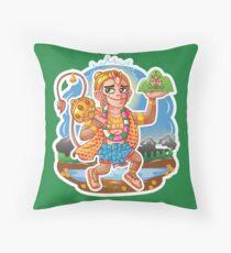 Hanuman - Hindu God - Bunch of Bhagwans Throw Pillow