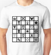 Kingdom Hearts Grid (Clear) T-Shirt