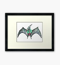 The Pteranodon of Christmas Framed Print