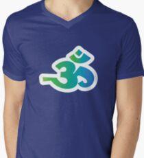 Om / Aum - Sanskrit Hindu Symbol - G2B Men's V-Neck T-Shirt