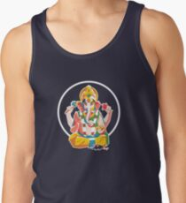 Lord Ganesh - Hindu God - Geometric Avatar Tank Top