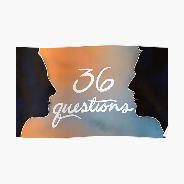 36 questions the podcast musical Poster